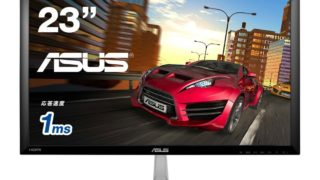 ASUS ゲーミングモニター 23型フルHDディスプレイ (応答速度1ms / HDMI×2, D-sub×1 / スピーカー内蔵) VX238H-P <1万4千円台から>